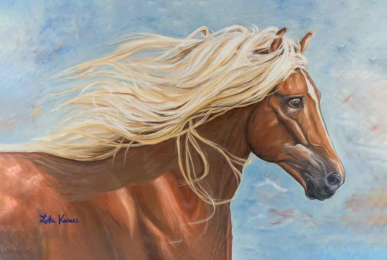 Chesnut-oil-on-canvas